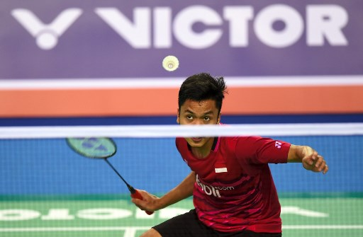 Anthony Ginting (Foto:AFP)