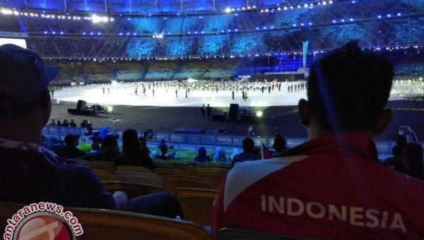 Kontingen Indonesia hadiri upacara pembukaan ASEAN Para Games 2017 Malaysia (Foto: Antara)
