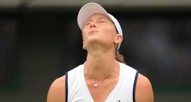 Samanta Stosur apes lagi di Wimbledon