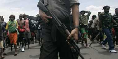 Polisi masih cari proyektil penembakan di Papua