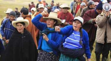 Bentrokan polisi Peru-pekerja tambang, 3 orang tewas