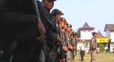 801 Personel Kawal Penyampaian Visi-Misi Pilwalkot Bandung