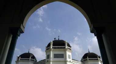 Masjid Al-Mashun Jadi Kebanggan Umat Muslim di Medan