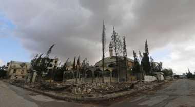 Empat Provinsi Suriah Dihantam Serangan AS