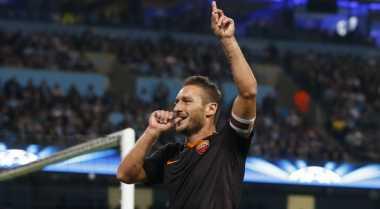 Totti, Pembobol Tertua di Liga Champions