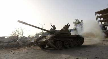 Bom di Pelabuhan Tewaskan 12 Tentara Libya