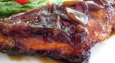 Resep Kakap Karamel Bawang Putih