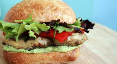 Resep Barbeque Chicken Sandwich