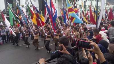 Pagar Besi Lengkapi Parade Budaya Asian African