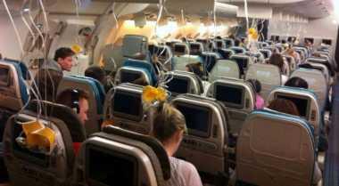 Ternyata Masker di Pesawat Bukan Berisi Oksigen