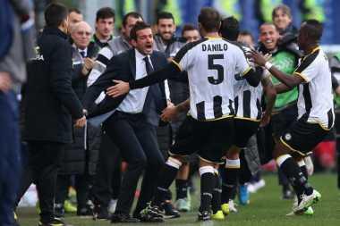 Udinese Ganjal Langkah Milan ke Zona Eropa