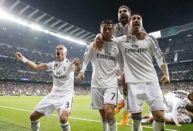 Madrid Bisa Kudeta Barca di Akhir Musim