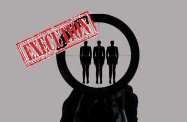 Detik Mendebarkan Regu Tembak Eksekusi Hukuman Mati
