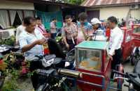 Polisi Sita 16 Becak Motor Penjual Bandrek di Medan
