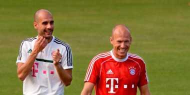 Robben Cedera karena Kesalahan Guardiola