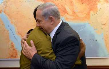 PM Israel Temui Korban Rasial