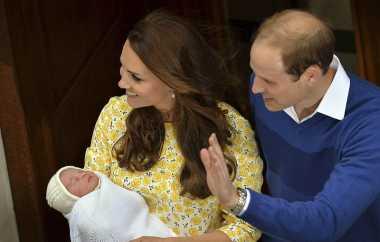 Pangeran Williams-Kate Umumkan Nama Putrinya