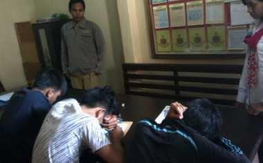 Tiga Siswa Tersangka Perkosaan Ikuti UN di Polres