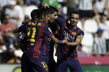 Kenangan Xavi Hernandez di Barcelona