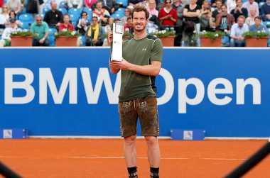 Murray Cetak Sejarah di Munich Open 2015