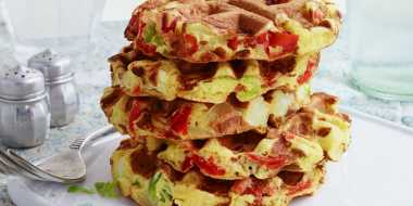 Resep Womelets, Paduan Waffle & Omelet
