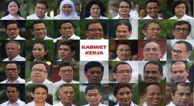 Semua Menteri Kabinet Kerja Jokowi-JK Telah Serahkan LHKPN