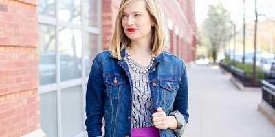 Padanan Jaket Jeans untuk Tampilan Feminin