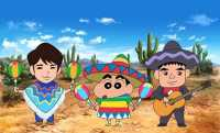 Film Terbaru Shinchan Diputar di Meksiko