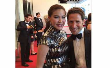 Pengalaman Olga Lydia di Red Carpet Festival Film Cannes 2015
