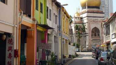Menyusuri Perkampung Arab di Singapura