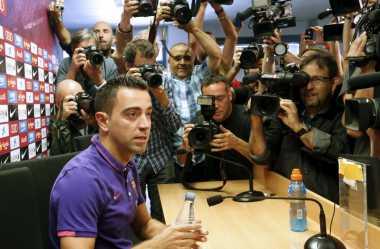 Sah! Xavi Tinggalkan Barcelona di Akhir Musim