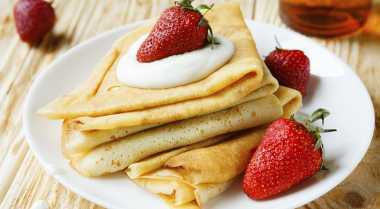 Resep Coconut Crepes