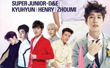 Lee Min Ho, EXO & Suju Kompak Hadiri Festival Lotte