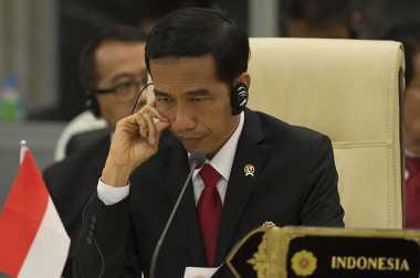 Jokowi Resmikan Dimulainya Pembangunan Makassar New Port