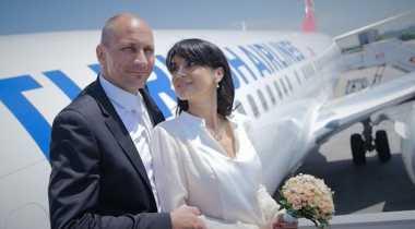 Tempat Menikah Bisa di Pesawat