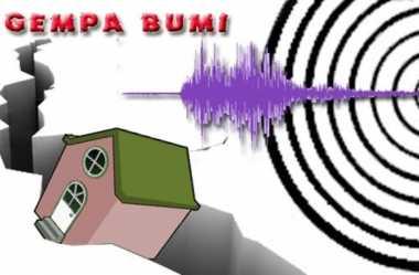 Paniai Diguncang Gempa 5,1 SR