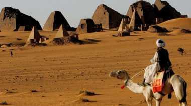 Piramida Terbanyak Bukan di Mesir