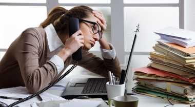 Tips Sehat Hadapi Stres Pekerjaan