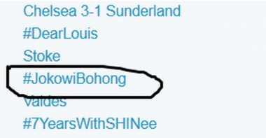 Mahasiswa UI Serukan #JokowiBohong Selama Dua Jam