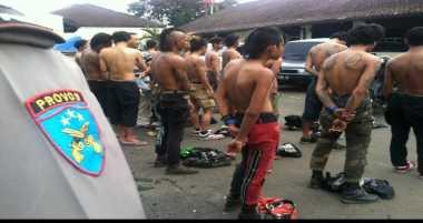 Polisi Ringkus 517 Preman Jakarta