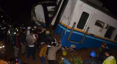 KNKT Selidiki Kecelakaan Dua Kereta di Cirebon