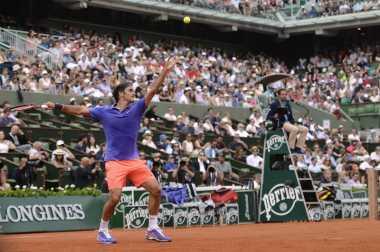 Start Apik Federer di French Open 2015