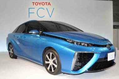 Mobil Hidrogen Honda FCV Diproduksi dalam Skala Besar pada 2020