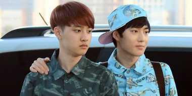 Tampil dengan Baju Motif ala Personel EXO