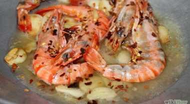 Resep Garlic Shrimp Nikmat