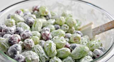 Resep Green Grape Salad