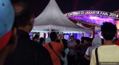 Jakarta Fair Kemayoran, Momen Keluarga Vokalis Govinda