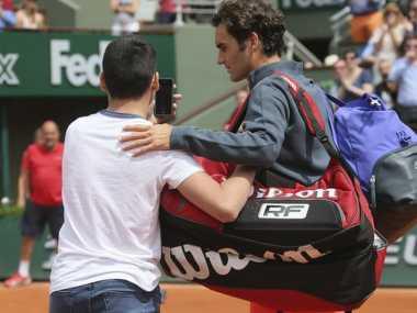 Ulah Fans Kejutkan Federer di Pertandingan Pertama French Open