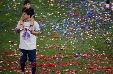 Juarai La Liga Kuras Emosi Messi