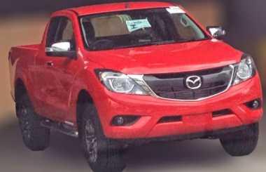 Beredar Penampakan Mazda BT-50 Facelift